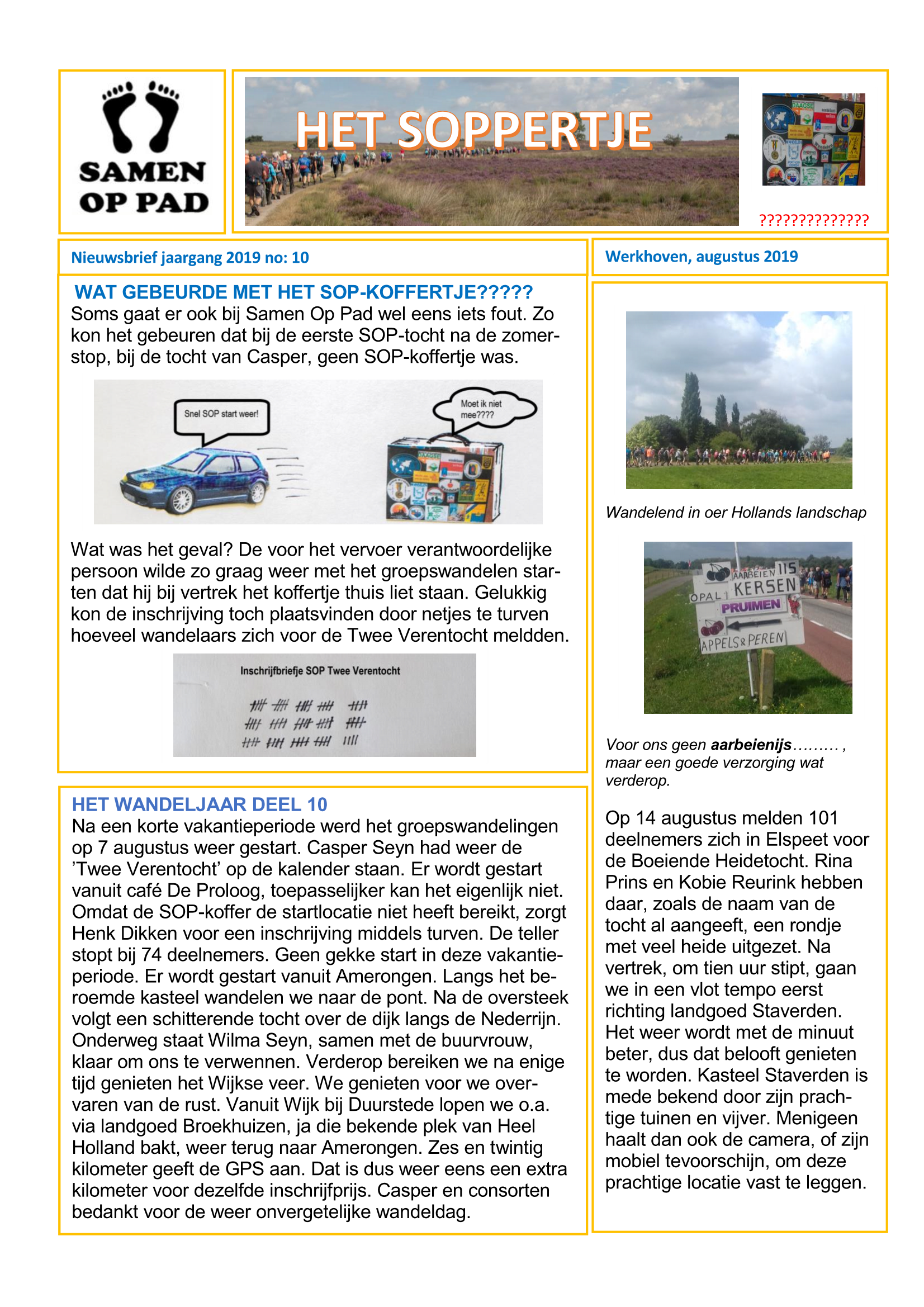 t Soppertje 10 2019 Page 1